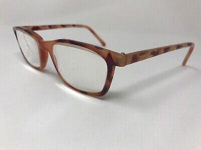 Artist Eyeglasses 49-20-140 USA Womens Vintage Light Havana Tortoise UP95](Light Up Eyeglasses)