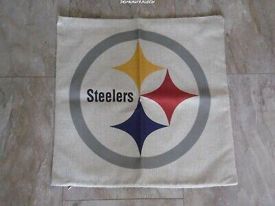 Pittsburgh Steelers NFL Kissenbezug / Kissenhülle- Football - ca.45x45cm - NEU