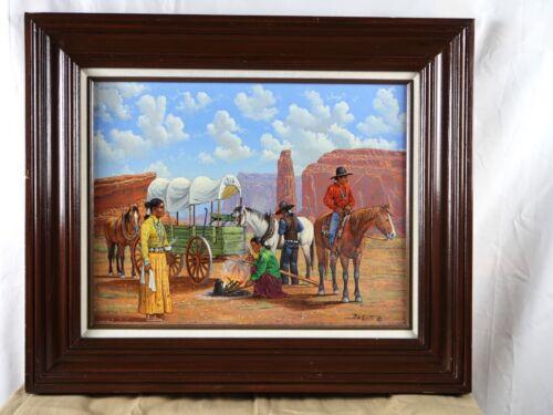 Robert Becenti Original Painting