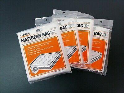 Mattress storage bag moving storage plastic cover protector king queen twin -