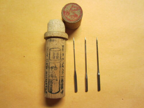 Boye White, AG Mason 20x1 Treadle Sewing Machine Needles