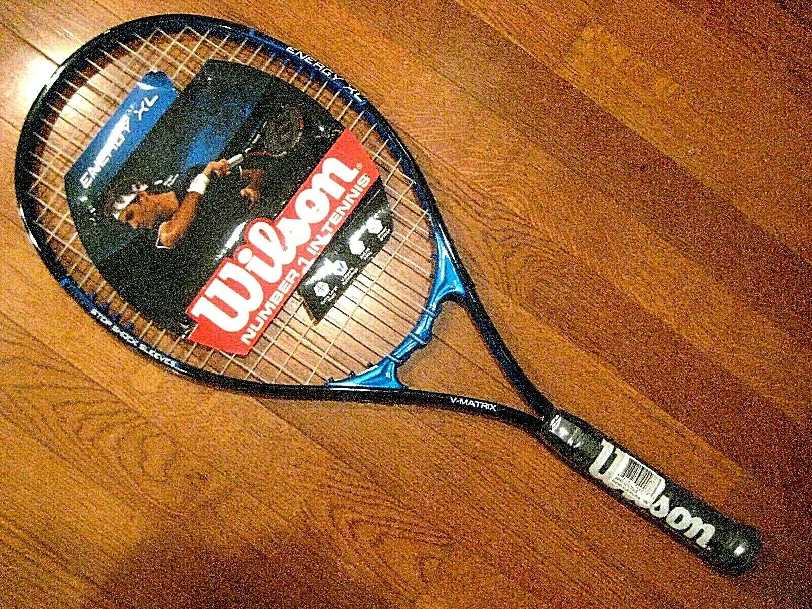 energy xl tennis racquet brand new strung