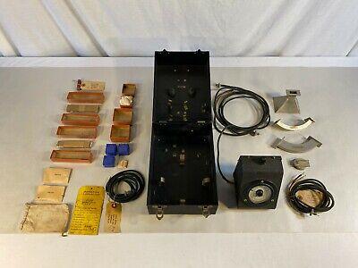 Vintage Test Set Kit - Waveguide Parts And Horn
