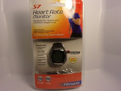 SportLine S7 Heart Rate Monitor Fitness Running Watch One Touch Technology USED