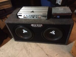 "10"" subwoofers in ported box"