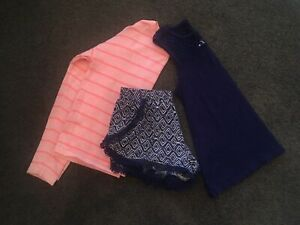 Girls Size 9 & 10 Tilli top, short and jumper Kew Boroondara Area Preview