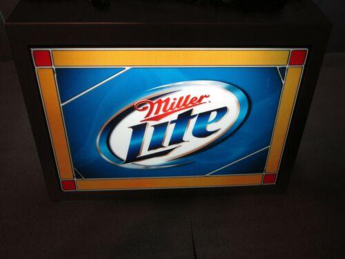 Miller LITE BEER hanging pool/poker table light RARE, SO NICE