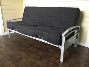Futon And Metal Frame