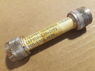 Telonic 1bp950-100-2ff1 0.9-1ghz Rf Microwave Band Pass Filter 09408 Ug-603au