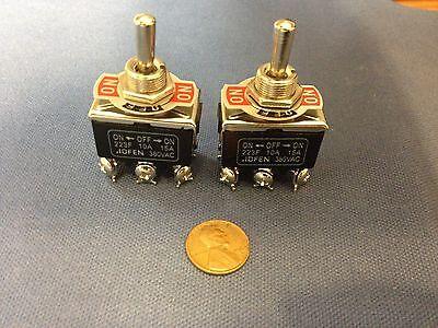 2 Pieces Black Dpdt Momentary Switch Onoffon Motor Reverse 30 Flash Fog Ligh