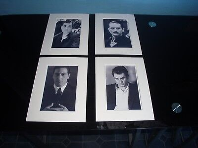 Mounted  Iconic Gangsters Prints