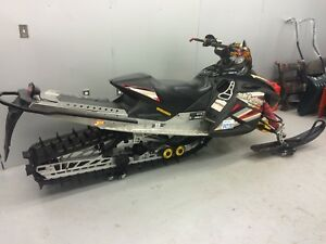 "2005 SkiDoo Renegade 800HO 163"" Mountain Mod"