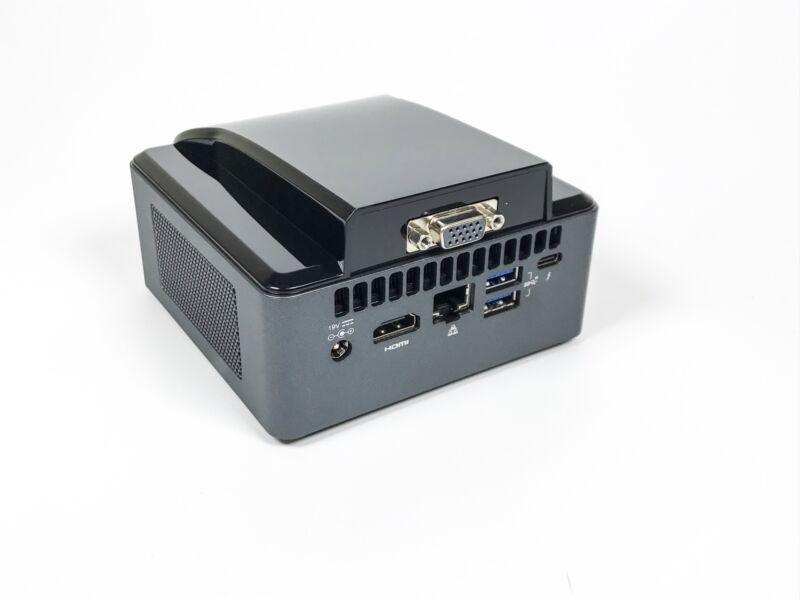 Intel NUC VGA LID