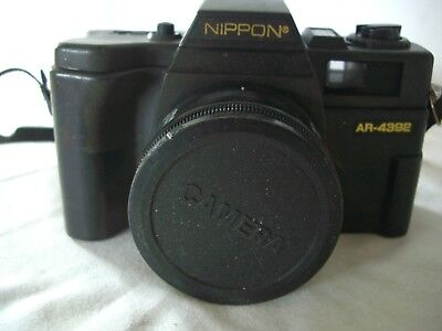 NIPPON AR-4392 35mm film point and shoot camera with flash lomo retro