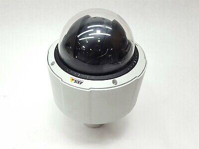 Axis Q6034 60hz Dome Ip Ptz Network Surveillance Color Poe Hdtv 18x Zoom Camera