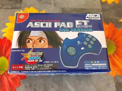 ASCIII PAD FT SPECIAL SNK VERSION DREAMCAST