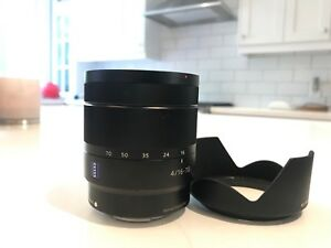 Sony Zeiss 16-70mm f4 lens