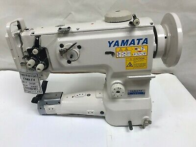 Yamata Fy1341 Cylinder Bed Walking Foot Machine Vertical-axis Hook Head Only