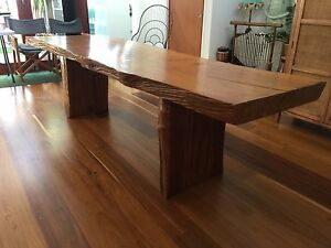 Solid Teak Dining Table Cleveland Redland Area Preview