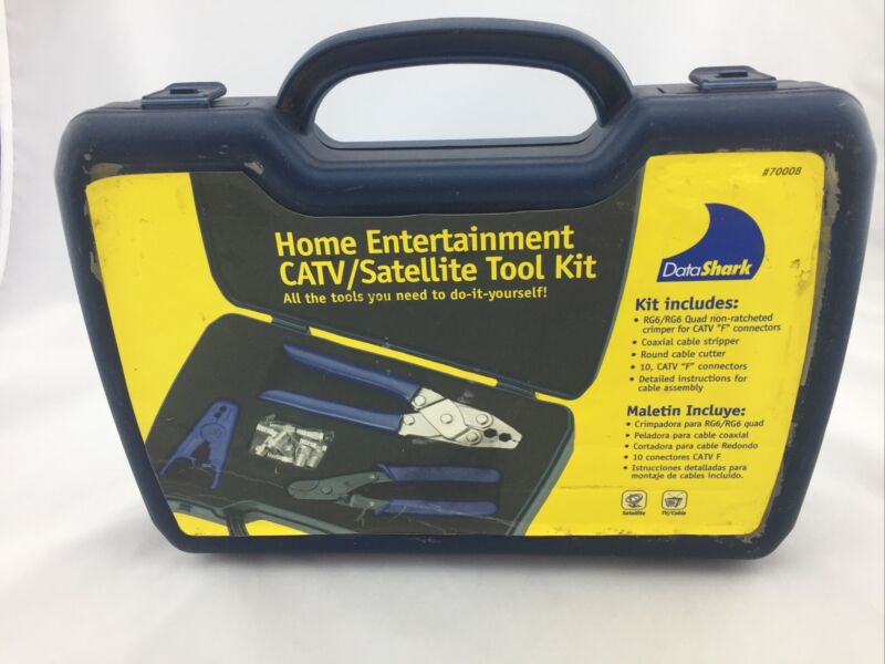DATASHARK 70008 HOME ENTERTAINMENT CATV/SATELLITE TOOL KIT