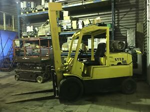 Hyster 15,000lb Forklift Towmotor !