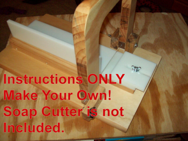 INSTRUCTIONS AND VIDEO ONLY! for Single slice wire soap cutter. pdf & Video only