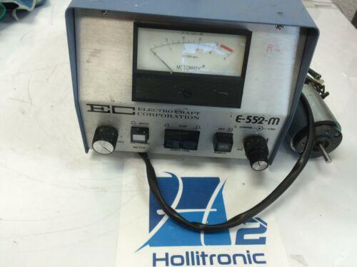 Motomatic Speed Control Tester  Electro-craft Ec-552-m