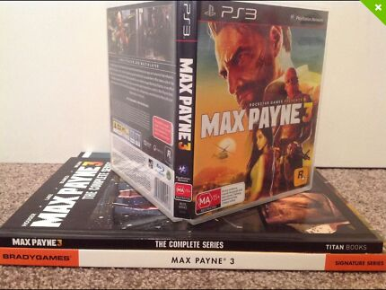 Max Payne 3 ~ PS3 Collection Stafford Heights Brisbane North West Preview