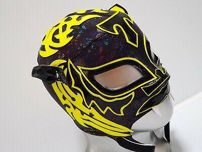 TIGER MASK WRESTLING MASK LUCHADOR COSTUME WRESTLER LUCHA LIBRE MEXICAN (Tiger Costume Mask)