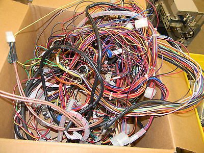 Varian 1200l Mass Spec - Assorted Wiring Harnesses  1d5