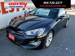 2016 Hyundai Genesis Coupe 3.8 Premium ONLY 4169KM!! MANUAL T...