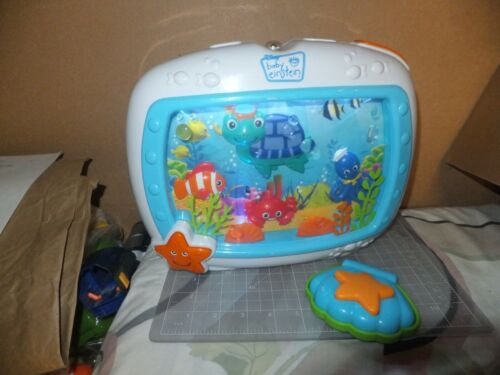 Baby Einstein Sea Dreams Soother Aquarium Light Sound Sleep Machine Remote
