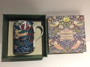 Spade Morris & Co strawberry Thief mug