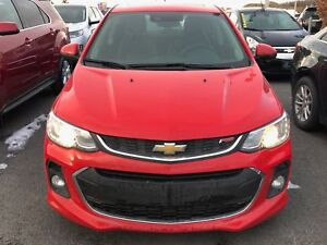 2017 Chevrolet Sonic LTZ RS CUIR, TOIT OUVRANT, CAMÉRA
