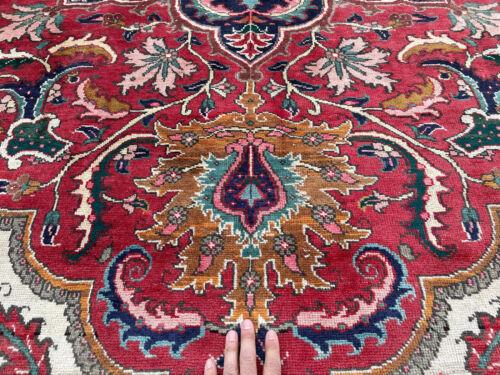 8x11 VINTAGE WOOL RUG ANTIQUE HAND-KNOTTED oriental handmade kazak big 7x11 8x10