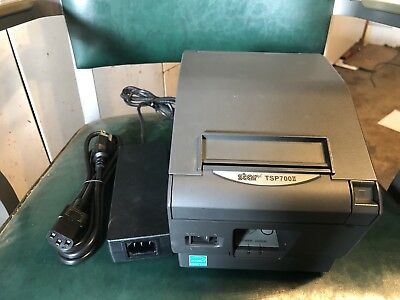 Star Tsp700ii Thermal Pos Receipt Printer Parallel With Power Supply