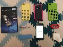 Green iPhone 5c 8GB locked to Optus Redbank Plains Ipswich City Preview