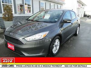 2015 Ford Focus you're approved  $54.34 a week tax inc. SE