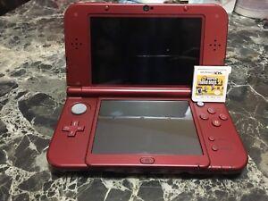 Nintendo 3DS XL plus super Mario Bros 2