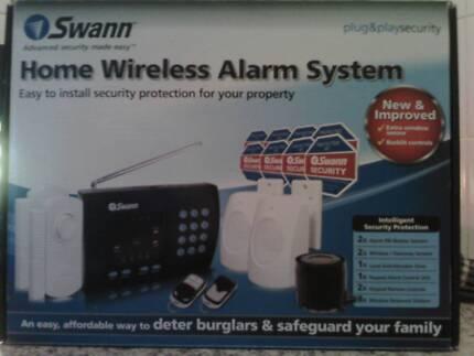 Alarm  system  swan wireless home system