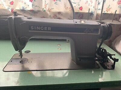 Singer 491 D200aa Industrial Sewing Machine With Table
