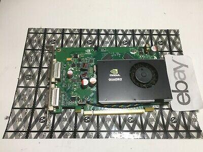 NVIDIA QUADRO FX 380 PCIe GDDR3 256MB Video Graphics Card HP 519294-001 Dual DVI