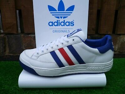 VINTAGE ADIDAS ILIE NASTASE SUPREME IV 80s casuals 2004 UK9.5 TENNIS VERY RARE