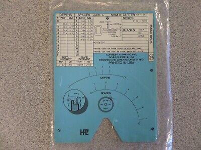 Hpc Cf211 Hyundai Sonata Auto Key Code Machine Code Card