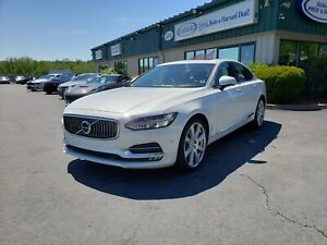 2017 Volvo S90 T6 Inscription HEADS UP DISPLAY/SMART CRUISE/E...
