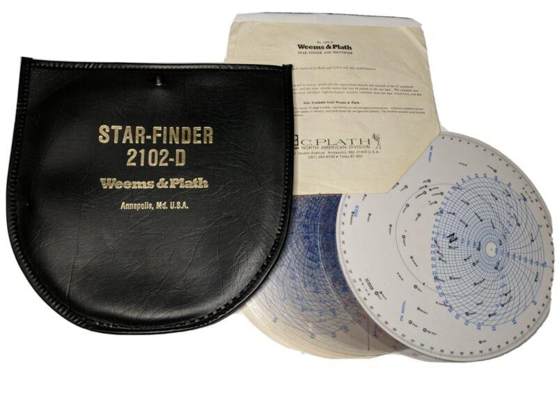 Vintage Weems & Plath Star Finder 2120-D - Complete