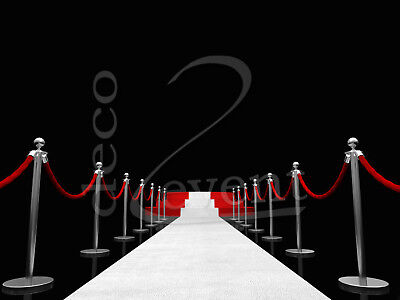 er, Teppich, VIP Teppich, Empfangsteppich, Hochzeitsteppich (Weißer Läufer)
