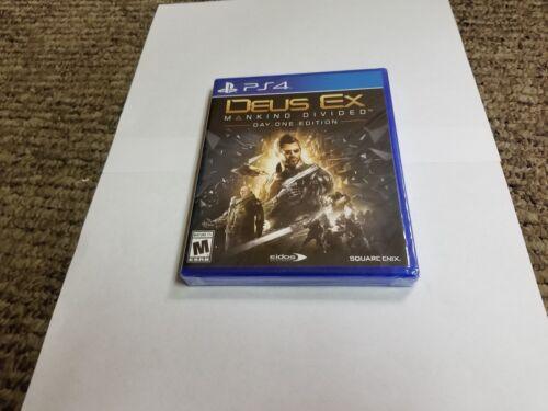 Deus Ex: Mankind Divided Day One Edition PlayStation 4 91636