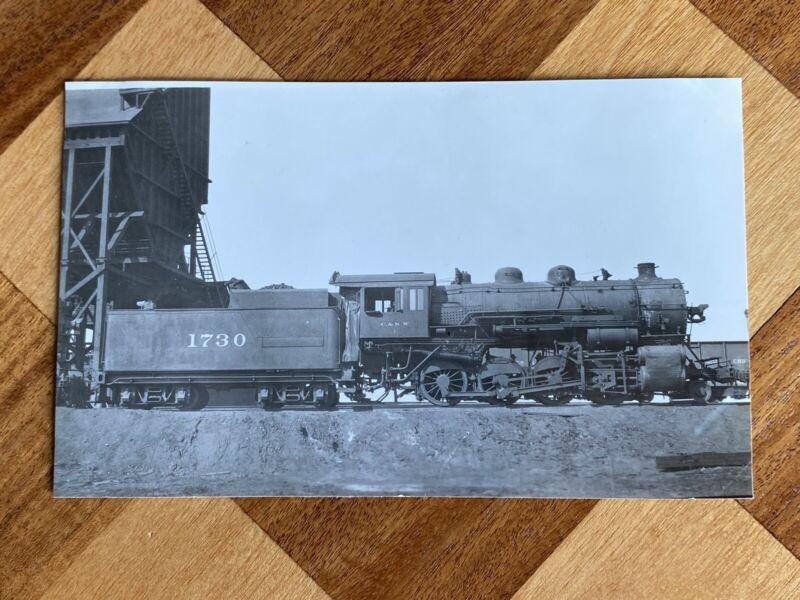Chicago North Western Railroad Locomotive 1730 Vintage Photo C&NW