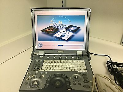 Ge Logiq E With 3s-rs Ultrasound Probeprinterexternal Multi Dvd Rewritter